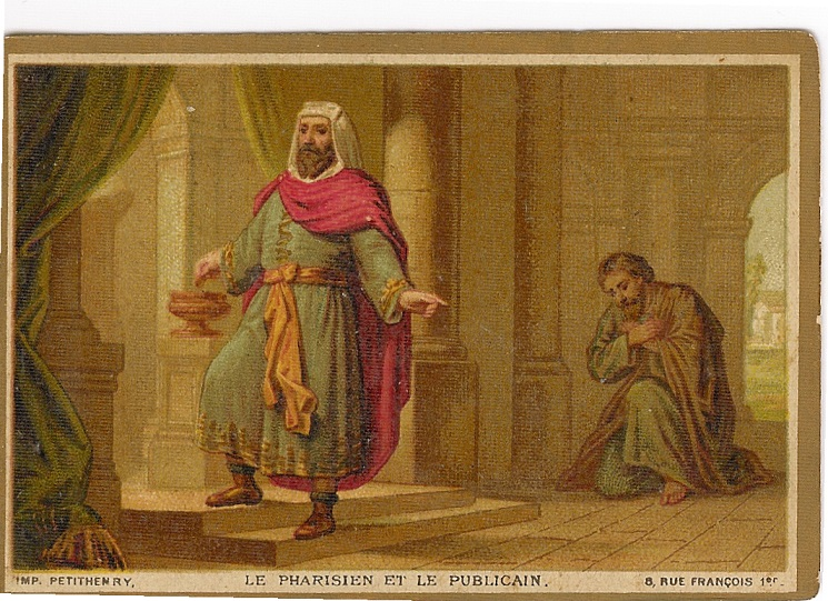 Image result for pharisee and publican