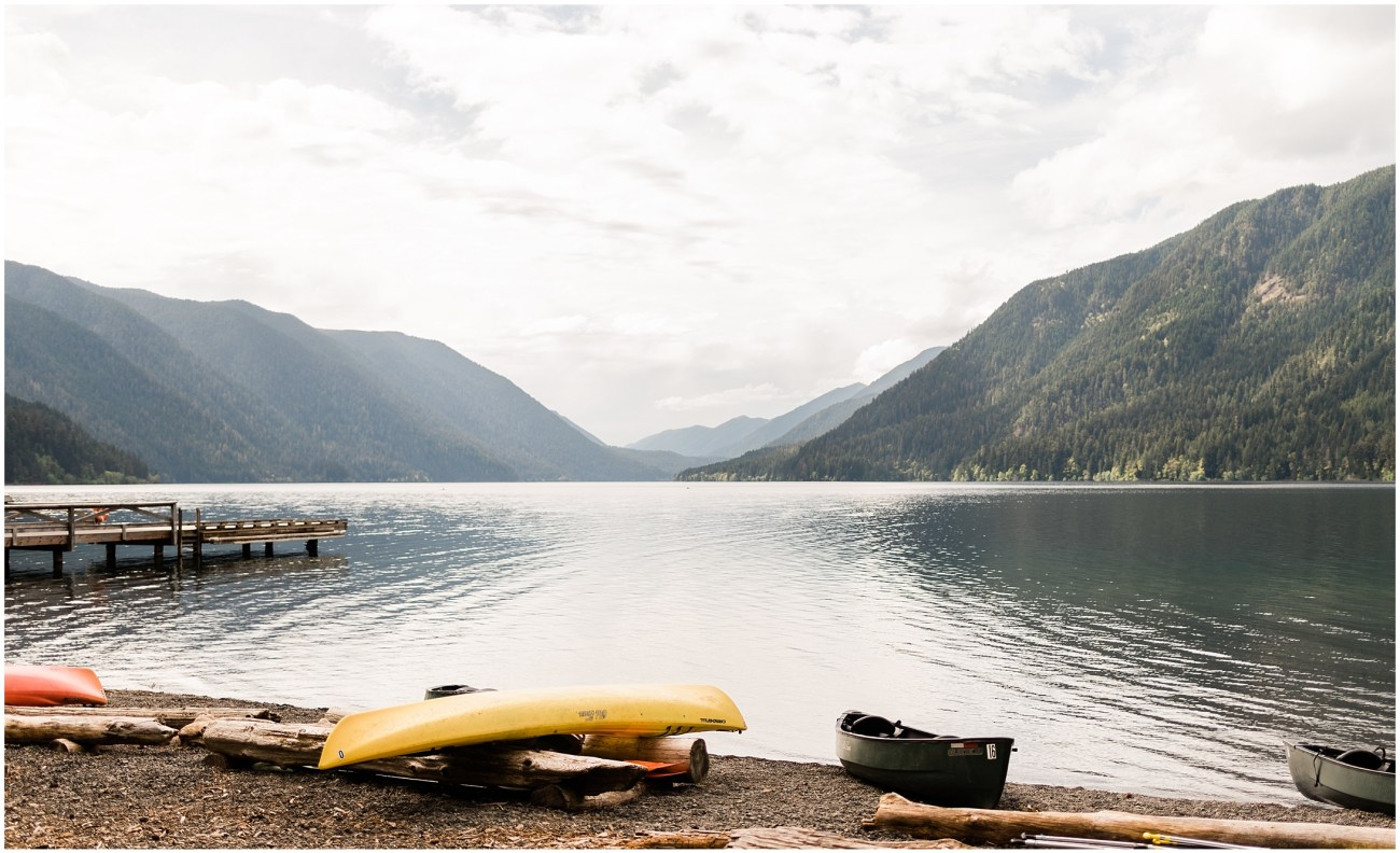 Photo of Lake Crescent at Lake Crescent Lodge in Olympic National Park by Forthright Photo