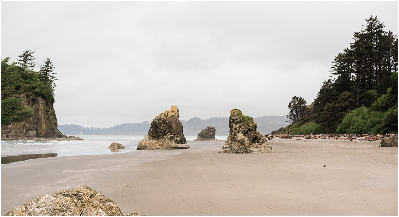 Photo of Ruby Beach in Olympic National Park by Forthright Photo