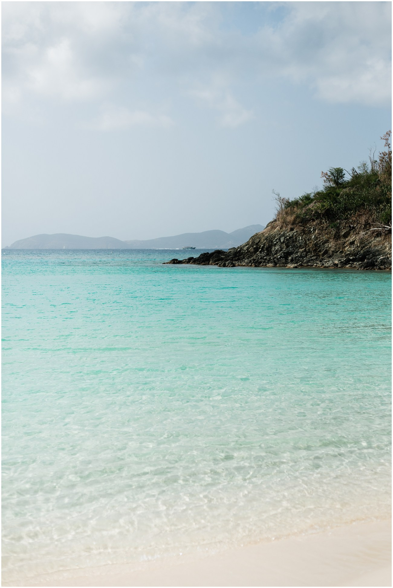 Photo of Trunk Bay Beach in Virgin Islands National Park, St John, USVI