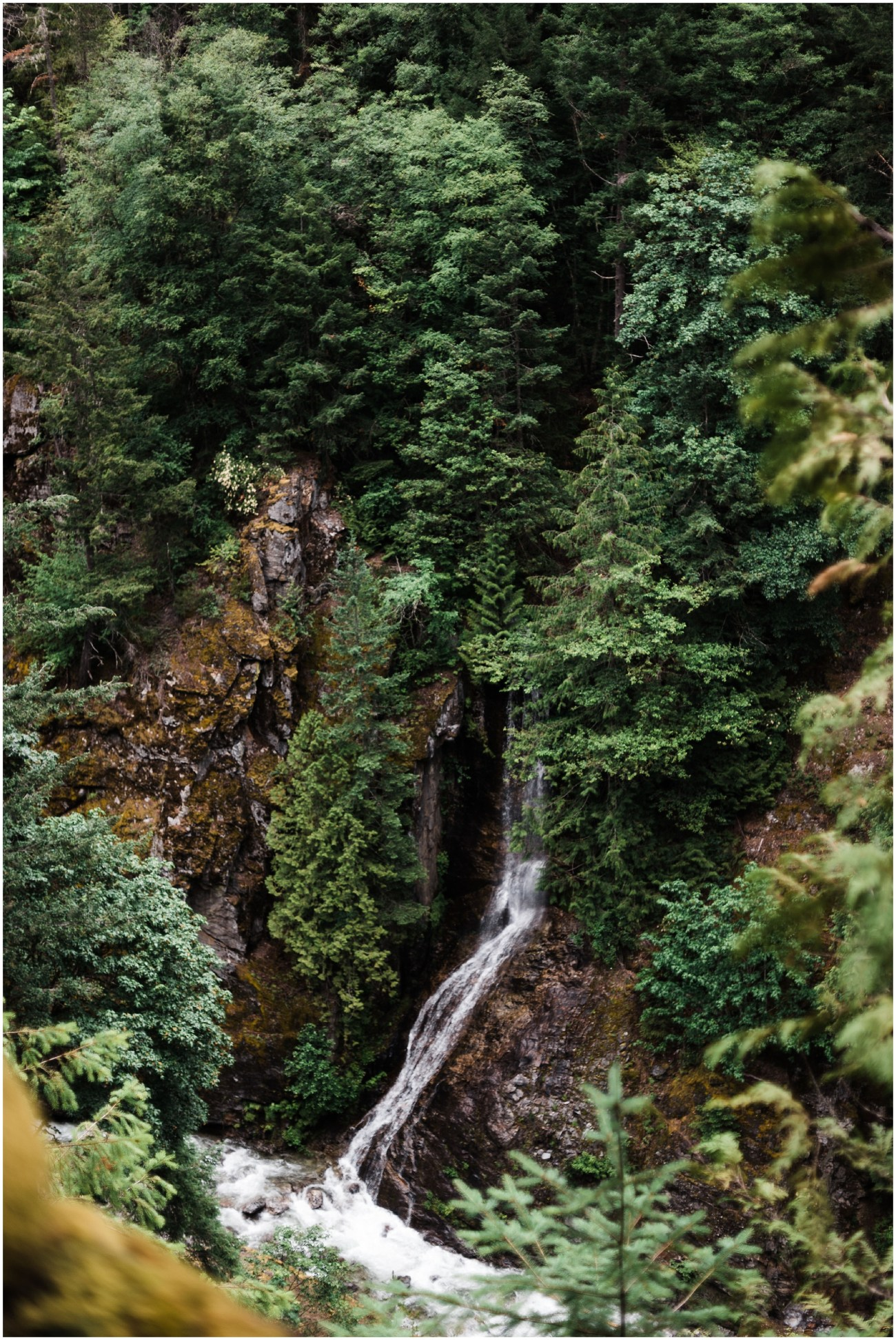 Photo of a waterfall in North Cascades National Park by Forthright Photo