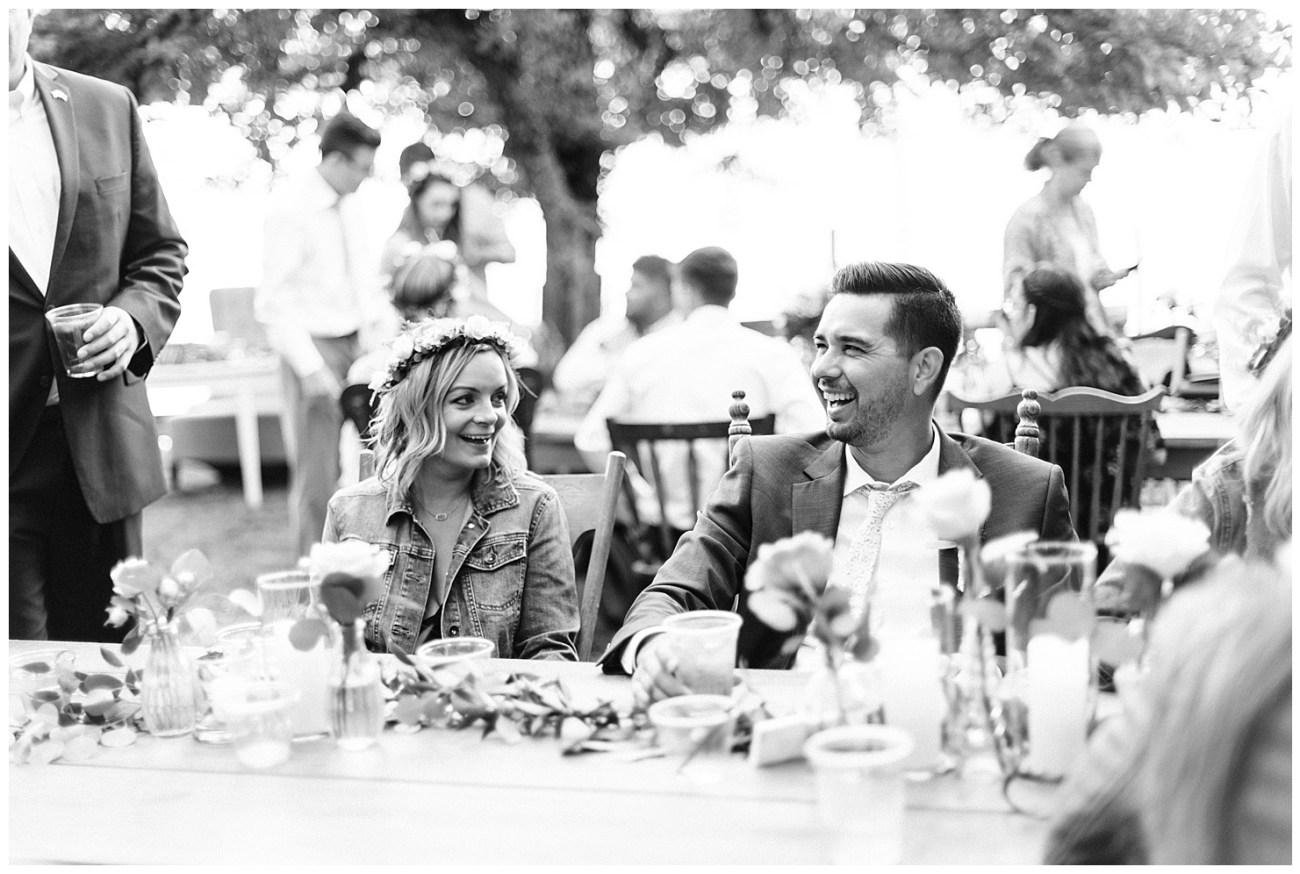Lake Coeur d'Alene Wedding Reception Photos by Forthright Photo