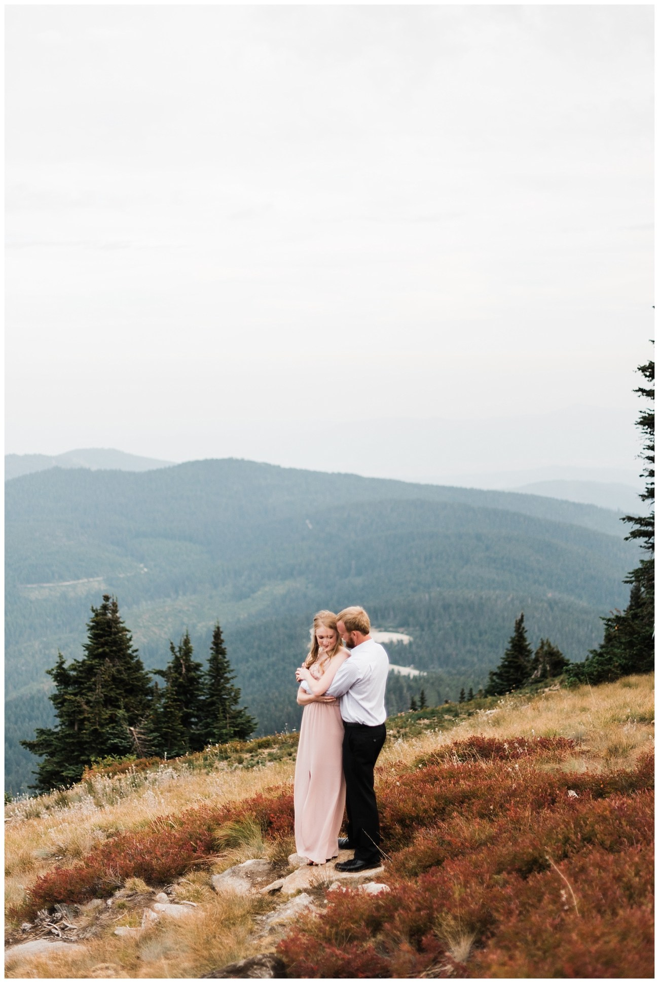 Mt Spokane Engagement Session by Forthright Photo