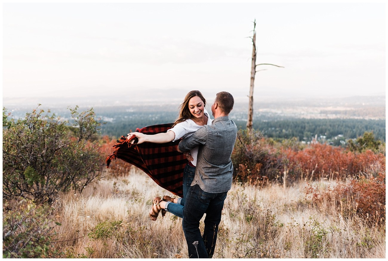 Iller Creek Engagement Photo by Forthright Photo