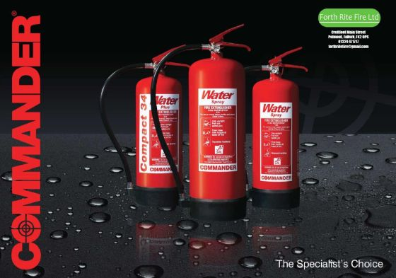 FRF extinguisher Catalogue 2014