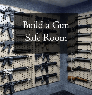 How to build a gun safe room