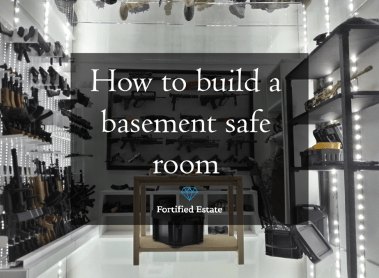 how to build a basement saferoom