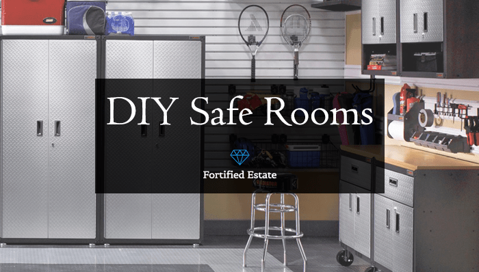 Build a diy safe room or panic room fortified estate for Panic room construction plans