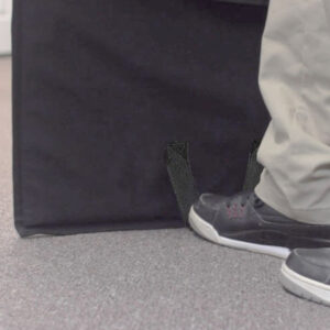 bullet resistant kevlar blanket opens to floor