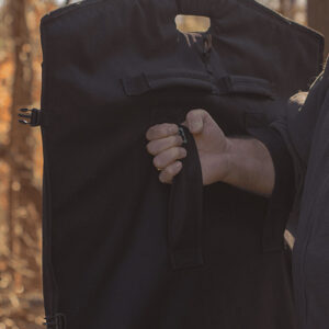 III-A Ballistic Blanket Held Outdoors