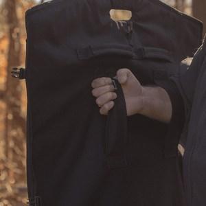 III-A Ballistic Blanket Held Outdoors