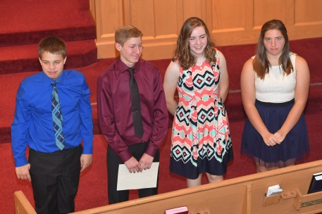 20171029 071 - Confirmation Sunday at First United Methodist Church - Fort Atkinson, WI - 10/29/17
