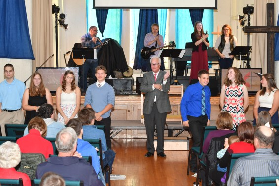 20171029 169 - Confirmation Sunday at First United Methodist Church - Fort Atkinson, WI - 10/29/17