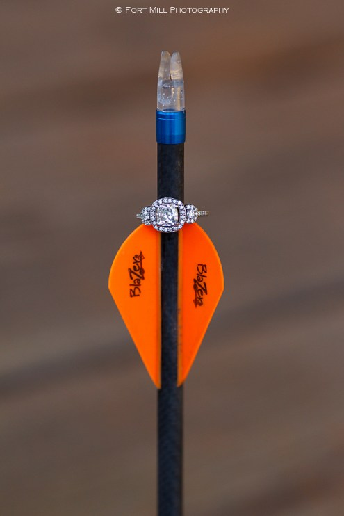Engagement Ring andHunting Arrow