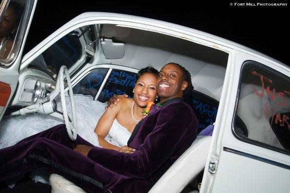 VW Bug Wedding