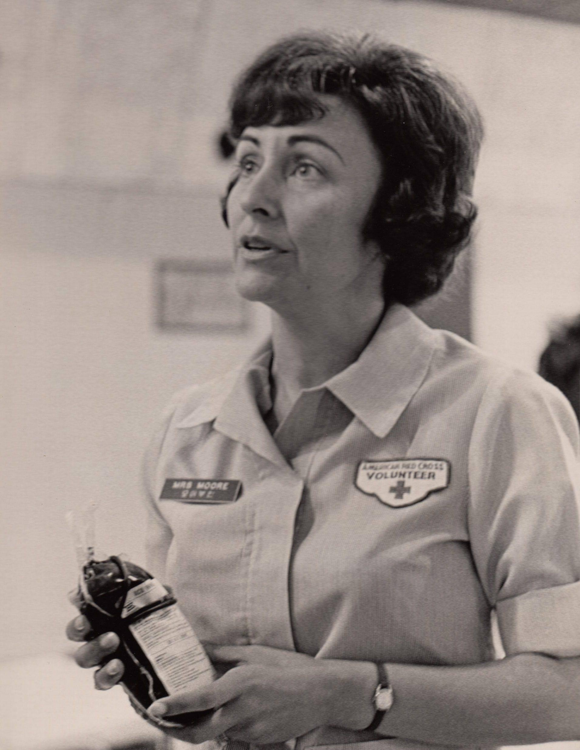 Julie Moore Red Cross Volunteer