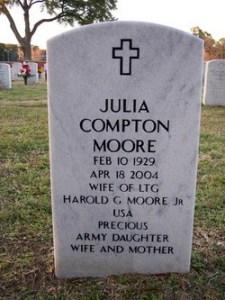 Julia Moore Tombstone