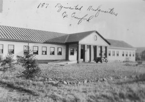 Camp Crawford Regimental HQ