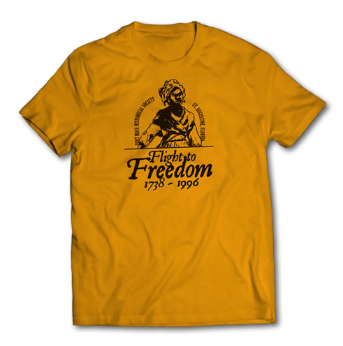 Fort Mose Flight To Freedom Soldier T-Shirt