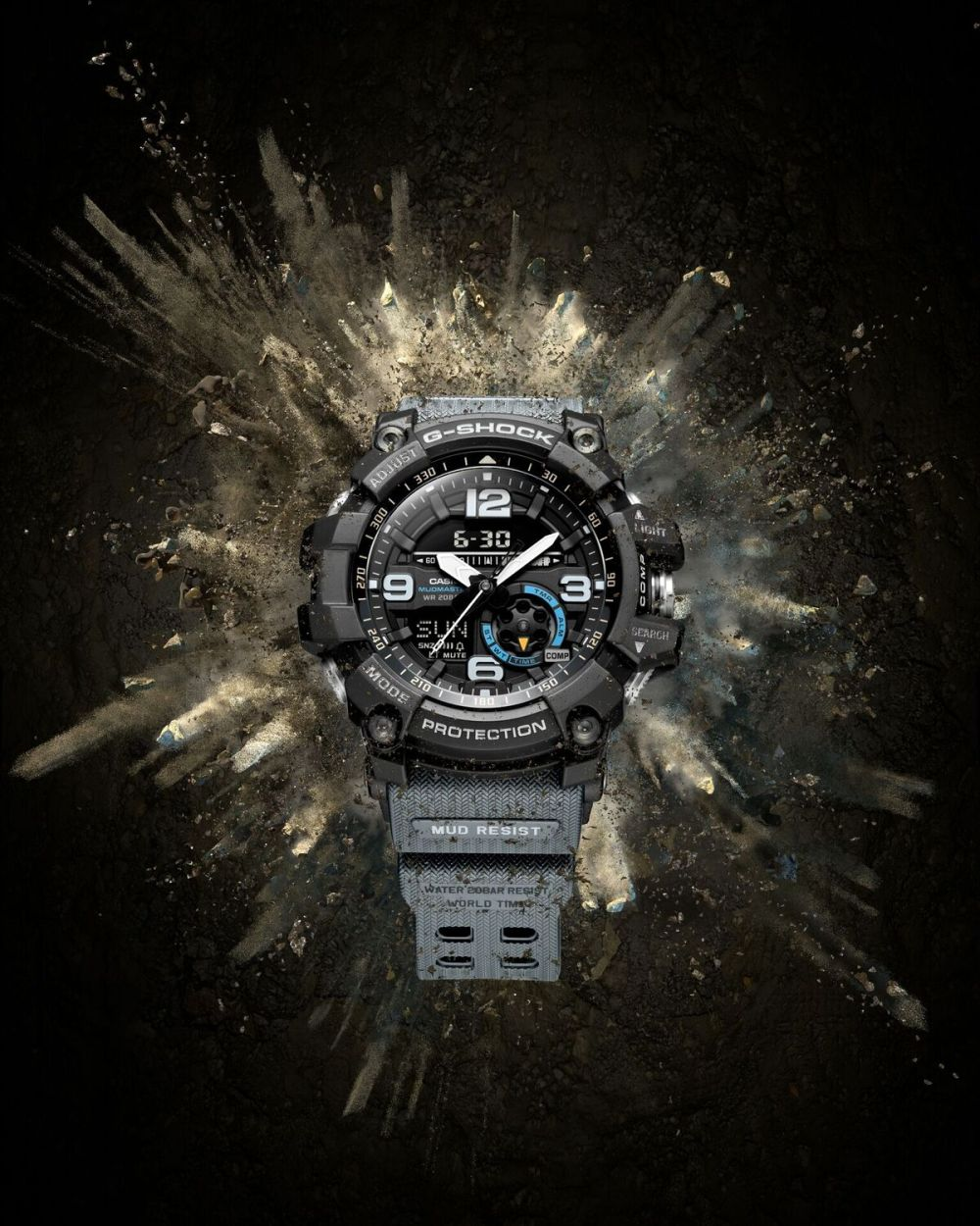 medium resolution of the g shock mudmaster gg1000 rugged reliable