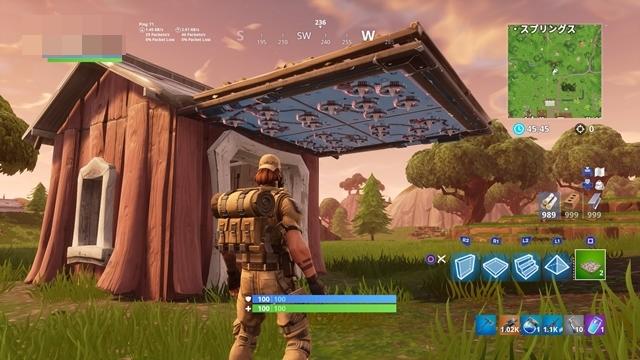 小屋の入り口外側にトラップを仕掛ける