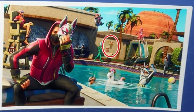#4「プールサイドパラダイス」のシークレットバトルスター
