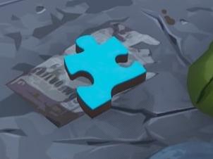 ジグソーパズルピース