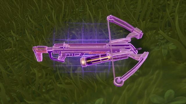 キューブモンスター専用の武器、クロスボウ「デビルハンター」