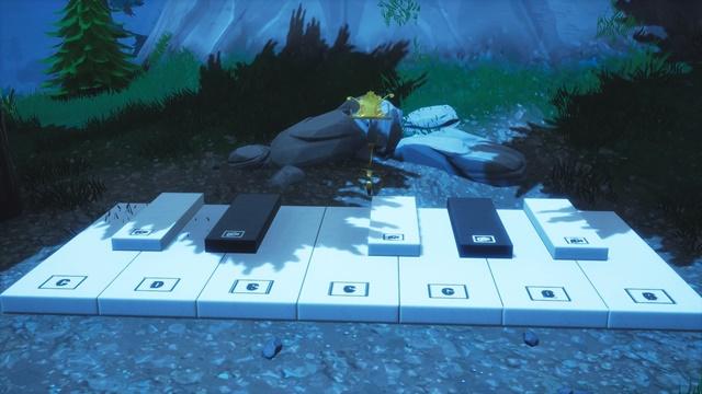 巨大な鍵盤