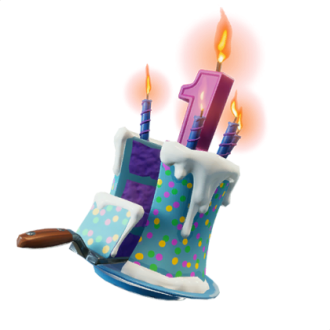 Birthday Cake Fortnite Cosmetic
