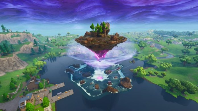 Fortnite Season 6 Loot Lake Floating Island