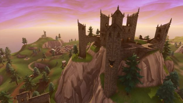 Haunted Castle Fortnite Location on Map