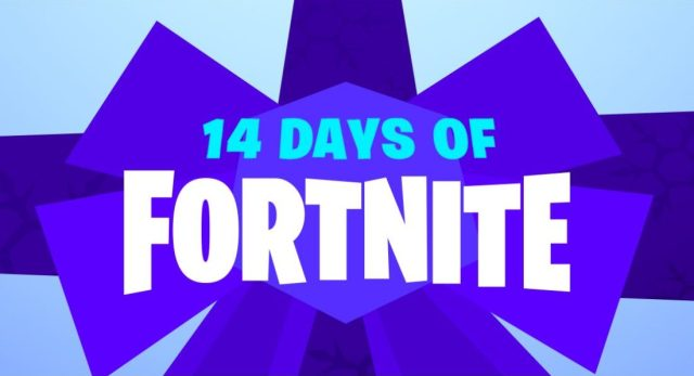 14 Days of Fortnite Event