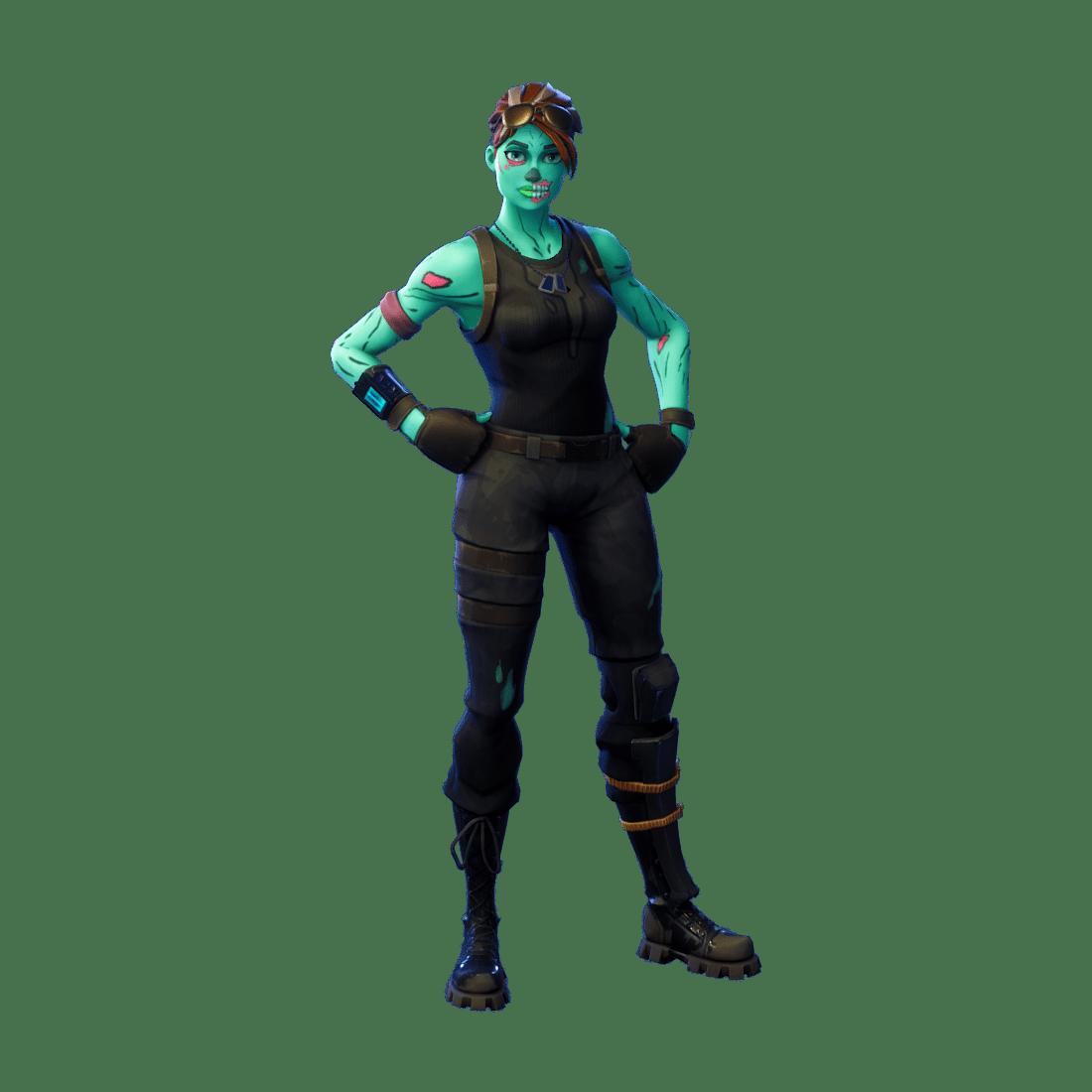 FortnitFortnite Skin - Ghoul Troopere Skin Ghoul Trooper