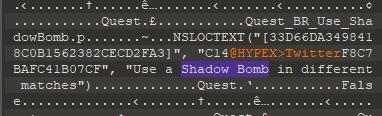 Fortnite Shadow Bomb
