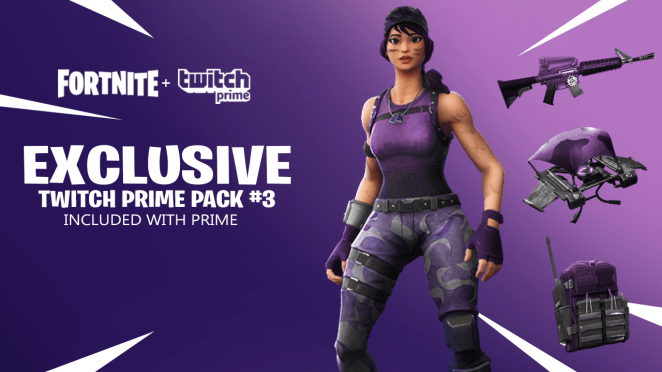 Fortnite Twitch Prime Pack 3 Concept