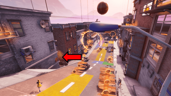 How to Complete the Fortnite Downtown Drop Find Jonesy Behind a Fence Challenge