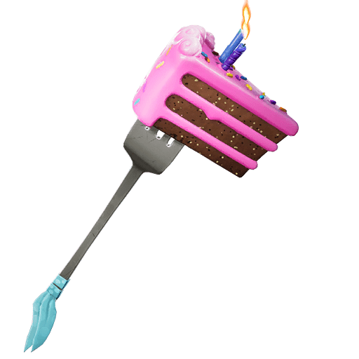Fortnite v9.40 Leaked Pickaxe - Birthday Slice