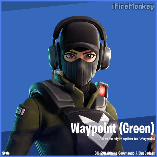 New Fortnite Skin Styles for Waypoint, Bravo Leader and