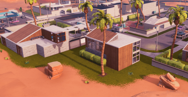 Fortnite v10.10 Map Changes - Paradise Palms Turning Into Moisty Mires