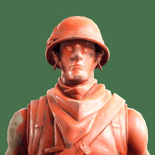 Plastic Patroller Red Skin Style
