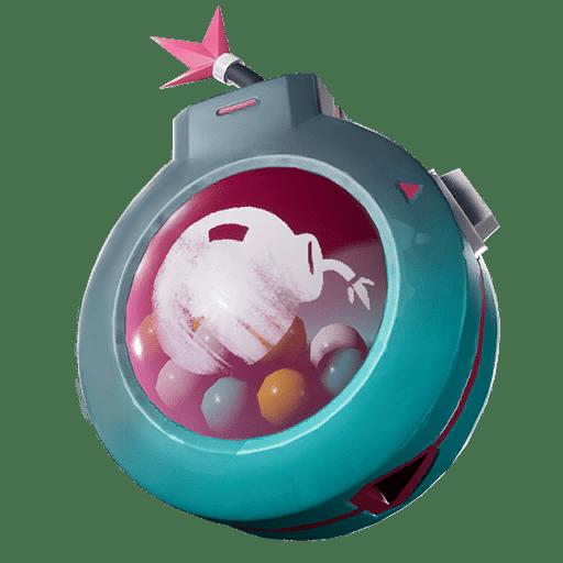v10.00 Fortnite Season X Leaked Back Bling - Bubble Blast