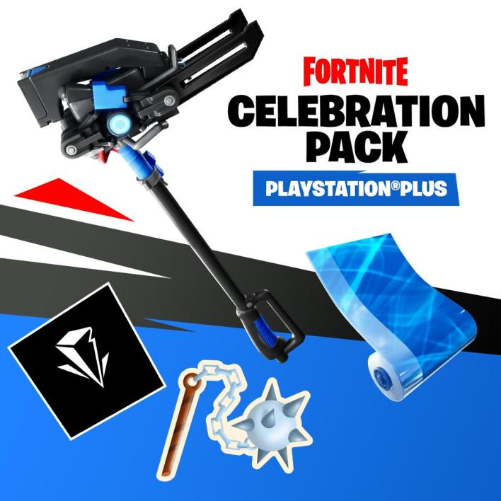 Fortnite Celebration Pack for PlayStation Plus Players
