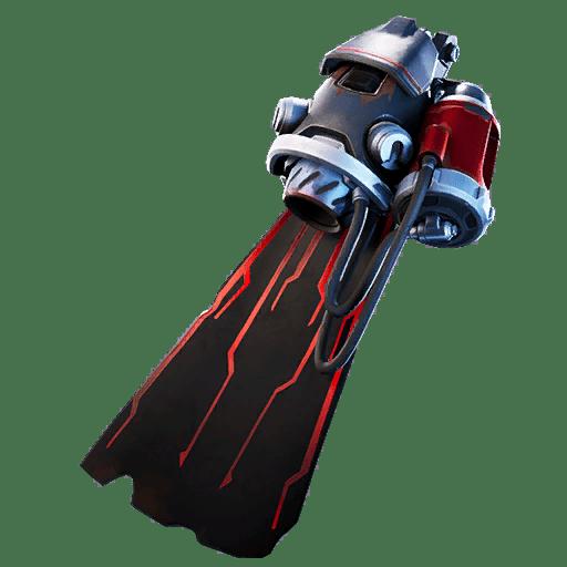 Fortnite v10.30 Leaked Back Bling - Star Surge