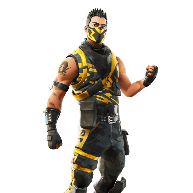 Fortnite v10.40 Leaked Skin - Deadfall