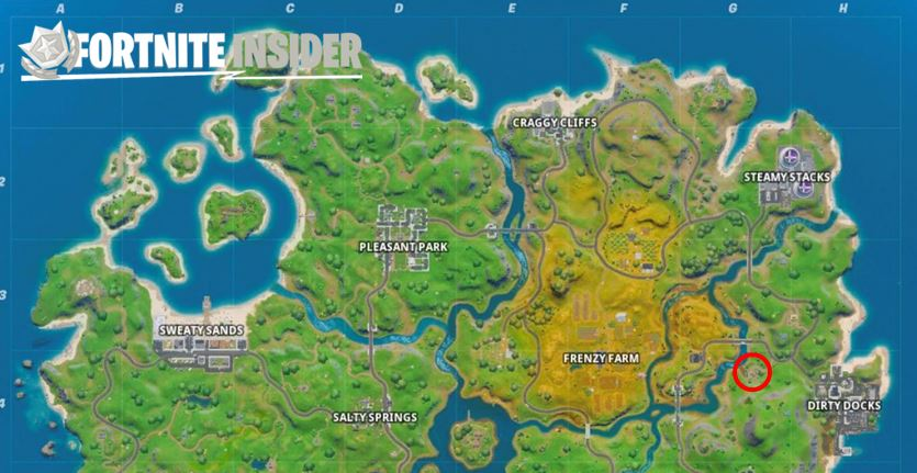 Compact Cars Fortnite Location