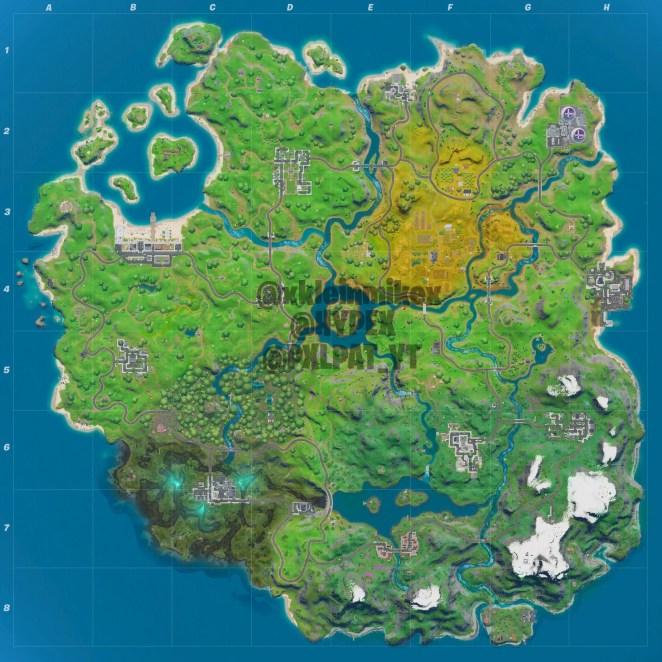 Fortnite Chapter 2 Season 1 Map Leaked