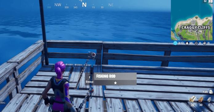 Fortnite C2:S1 Fishing Rod Location