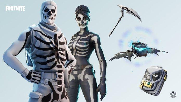 Pelli di Halloween di Fortnite