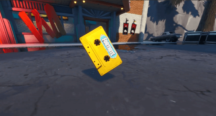 Fortnite Visitor Tape Recording Gotham City Location